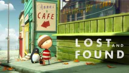 Lost and Found (U.K., 2008), by Philip Hunt, screens this weekend as part of the Bay Area International Children's Film Festival.