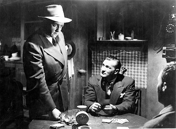 "Raymond Burr, as usual, stars as the heavy in Anthony Mann's ""Desperate."""
