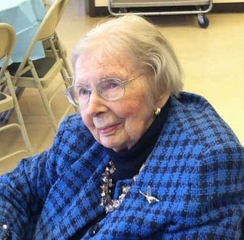 Betty Hannah Hoffman: 1918-2014