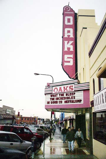 Metropolitan Theaters will not renew its lease for Solano Avenue's Oaks Theater.