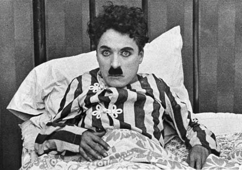 Charlie Chaplin in The Adventurer.