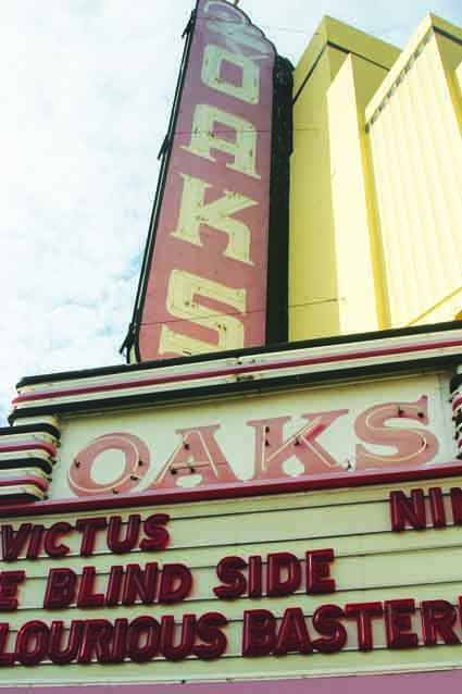 The Oaks Theater is in need of a new operator.