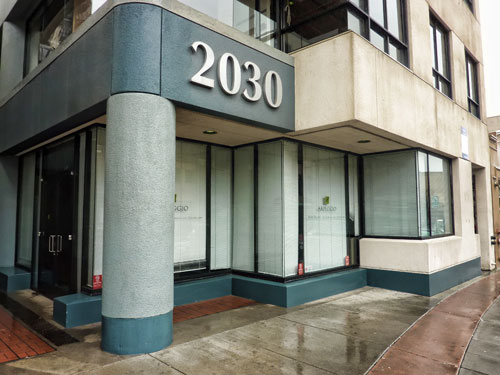 The Arpeggio Building's Sales  Office, February, 2011.