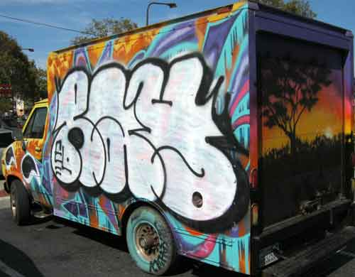 "Painting your personal vehicle is an act of ""cartistry.""