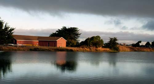 Boathouse at Berkeley's Aquatic Park