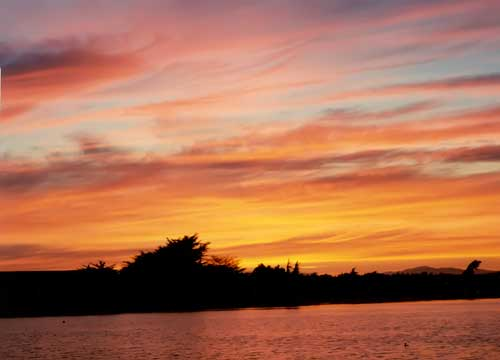 Sunset at Berkeley's Aquatic Park #2