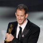 Pete Docter with his Oscar.