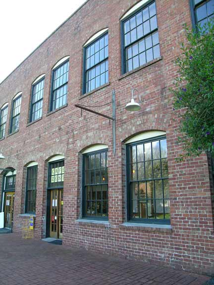 This brick building was designed by Walter W. Crapo, a young San Francisco architect.