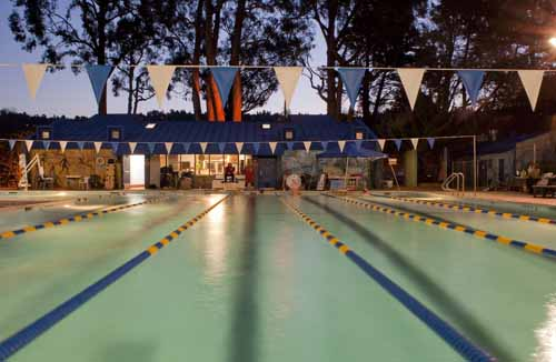 A 24-hour swimathon is being held to raise funds for the Measure C campaign which seeks to rehabilitate and expand the city's pools.