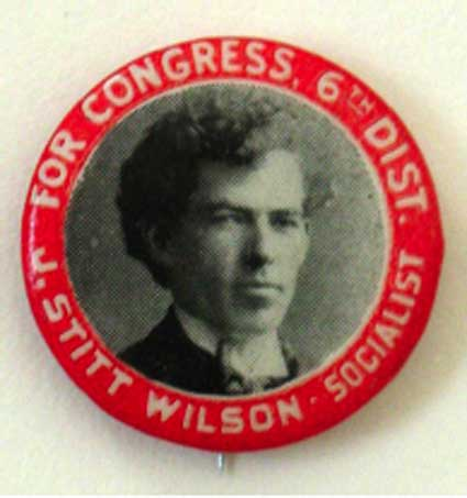 Wilson for Congress Button