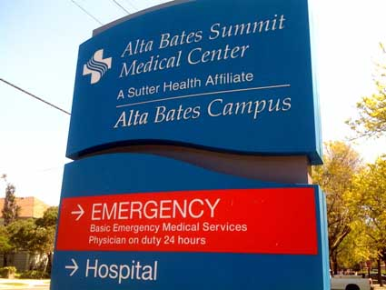 Alta Bates Summit Medical Center is considering closing its cardiac cath lab. The proposal has alarmed patients.