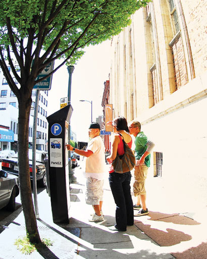 Visitors to downtown Berkeley may soon be paying for the on-street parking spots a little longer—until 10 p.m. at the computerized pay-and-display spaces if a proposal now before the City Council wins approval.