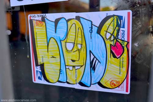 Here is some background (courtesy of Endless Canvas) on the two other local illuminaries featured in the March 30 Graffitirazzi column.