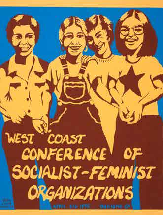 West Coast Conference of Socialist-Feminist Organizations<br /><br />This conference was sponsored by the Berkeley-Oakland Women's Union.  Like many of the women's unions nationwide, this one was socialist, and joined issues of women's liberation to issues of social class.  Workers and women were regarded as have closely linked interests.<br /><br />These unions grew rapidly but became as riven by competing ideological tendencies and allegiances as was the wider Left to which they belonged.  As that Left declined in the late 1970s, they declined as well.<br /><br />But what women had realized could not be so easily taken away.  From women's organizations came a generation of activists with organizing skills and understandings that in subsequent decades they put to good use in trade unions, schools, work places, government institutions, and their personal as well as political relationships.