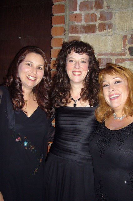 Left to right: Kathleen Moss, Eliza O'Malley, Pamela Connelly
