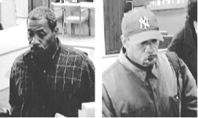 Berkeley police detectives are asking for the public's help in locating a man suspected of twice robbing the Telegraph Avenue branch of the Bank of America.