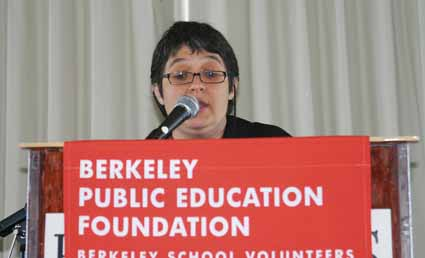 Berkeley High English teacher Susannah Bell.