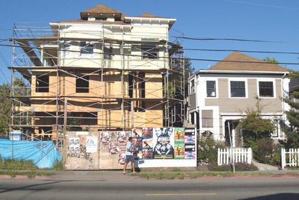 THE HOUSE at Shattuck and Essex in South Berkeley used to be a one-story bungalow.