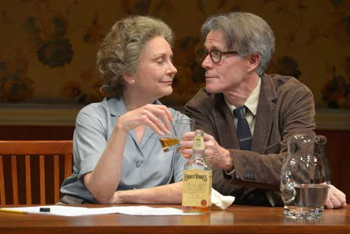 Mary Beth Fisher and Tom Nelis as Elizabeth Bishop and Robert Lowell