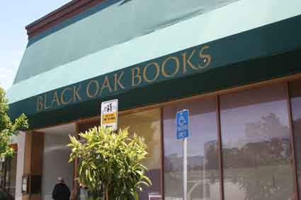 Shattuck Avenue's Black Oak Books closed up shop Monday.