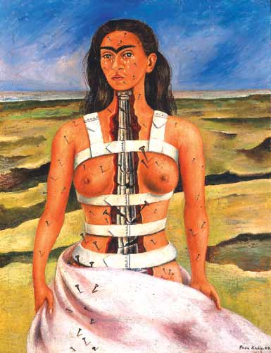 Frida Kahlo's The Broken Column.