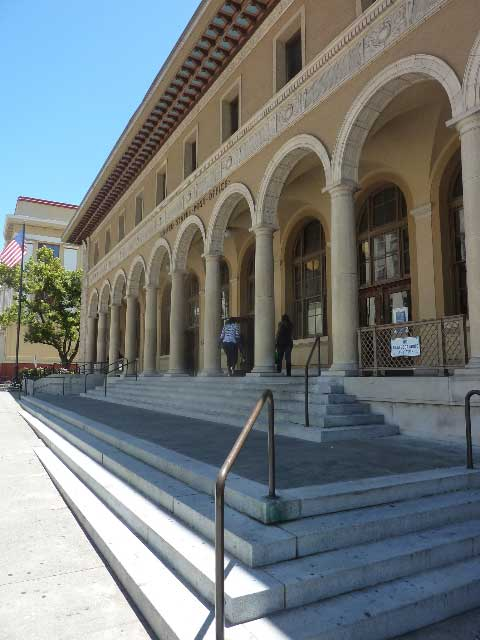 The Downtown Berkeley Post Office is scheduled to be closed and the building sold.