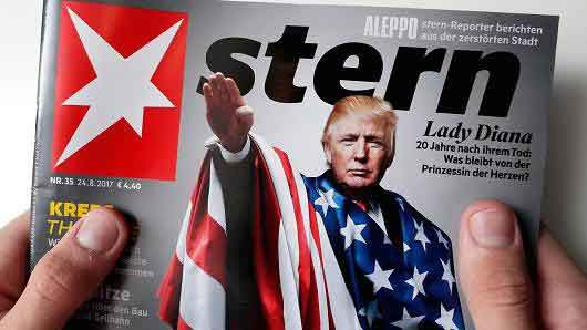 Trump's Stern Nature:The Germans can clearly see the problem. They've been through it before.