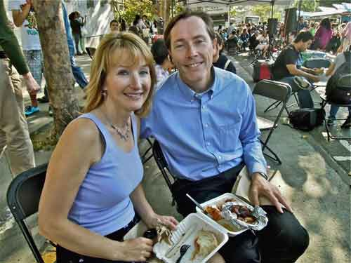 "Berkeley Police Chief Michael K. Meehan, and his wife, Becky rated their BBQ five star. Zatgat rated it (Southern Sandwich Co.--""we cater""--one of five best in SF."