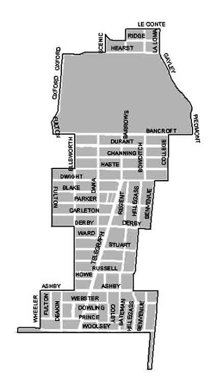 Berkeley Council District 7 includes several different neighborhoods and a diverse population.