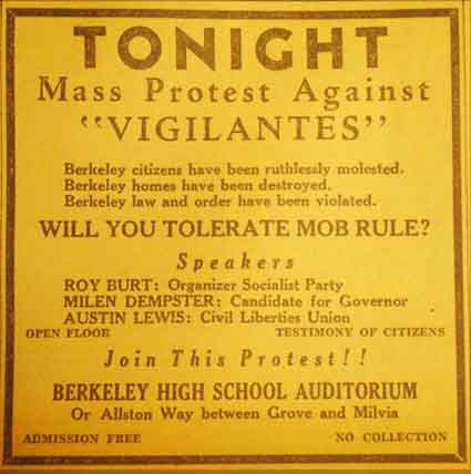 Courtesy Berkeley Historical Society