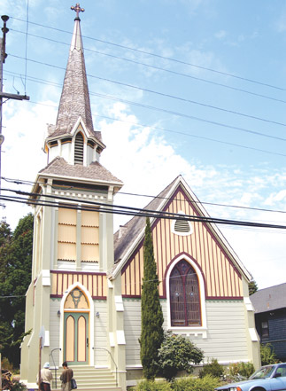 THE NEWLY RENOVATED Good Shepherd Church at Ninth Street and Hearst Avenue will hold a public birthday celebration Aug. 11.  