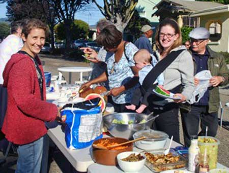 Blake and Mabel Neighborhood Association in Berkeley celebrates National Night Out on August 2nd.