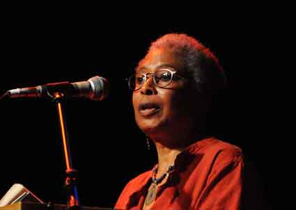 "Pulitzer Prize-winning author Alice Walker reads from ""Letters of Love and Hope."""
