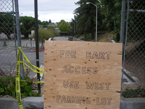 The Ashby BART stations east lot will be closed during construction of the Ed Roberts campus.