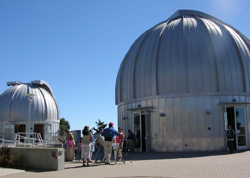 The Chabot Space and Science Center on Skyline Boulevard.