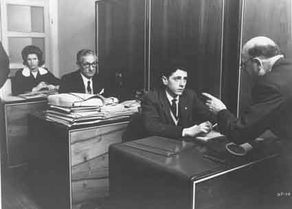 Sandro Panseri plays a young man in search of a secure job in <i>Il Posto</i> (1961).