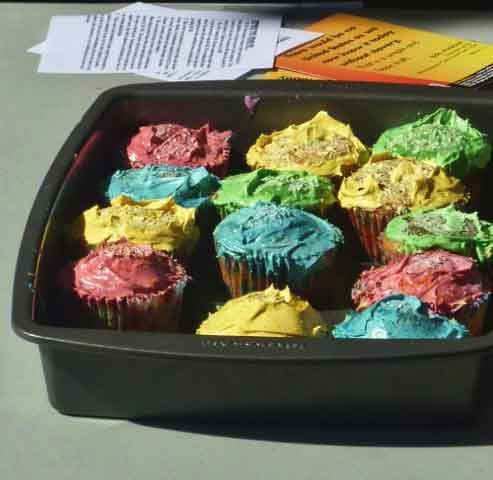 Some of the controversial cupcakes.