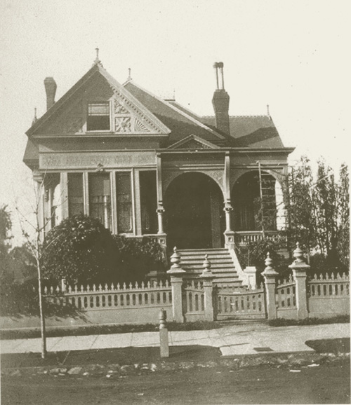 William B. Heywood's home at 1500 Arch St. was built in 1888 and sold to Captain William Marston four or five years later.
