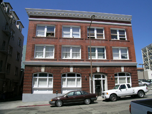 The Heywood Apartments at 2119 Addison St. were built in 1906 for William B. Heywood.