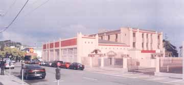Emeryville architect Sady S. Hayashida presented city landmarks commissioner with his plans to convert the classic Art Deco Howard Automobile building at 2140 Durant Ave. into a three-story facility for the Buddhist Churches of America Institute for Buddhist Studies. S