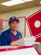 Dominos franchise owner Chieu Dang might get more competition if a
