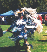 Champion fancy dancer Gilbert Blacksmith, of the Lakota Nation, participates in last year's Indigenous People's Day in Berkeley.