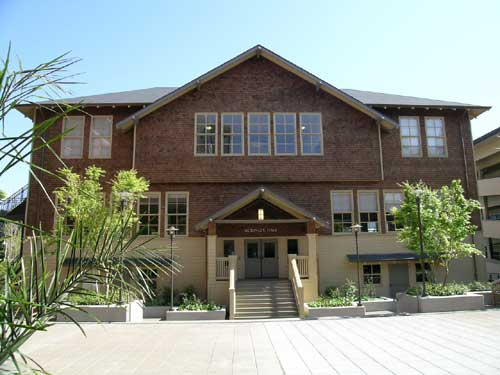 Originally the Haste St. annex of McKinley School, McKinley Hall is now part of the First Presbyterian Church complex.