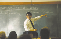 Chang-Lin Tien, former UC Berkeley Chancellor and the first Asian-American to head a major U.S. 