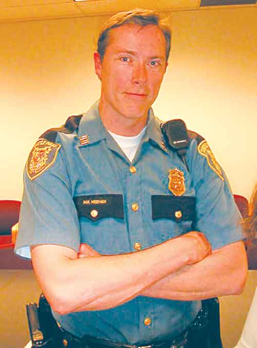 Captain Michael Meehan of the Seattle Police Department was named Berkeley's new police chief.