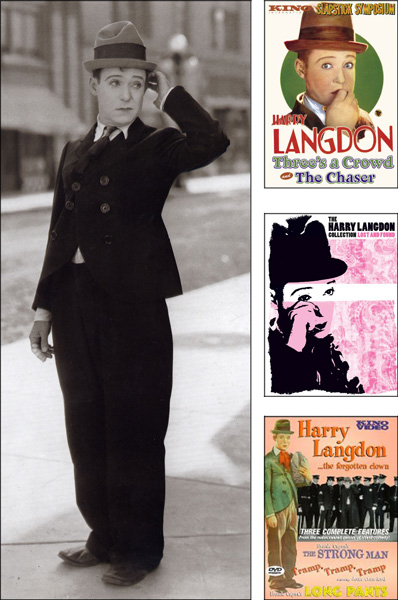 DVD releases of the films of Harry Langdon should help establish him as one of the great comedians of the silent era.