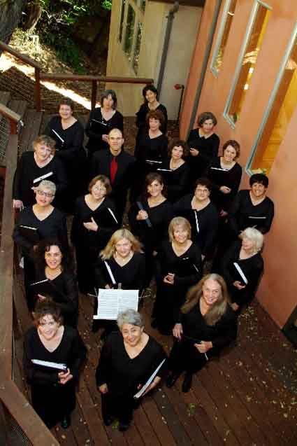 Voci Women's Ensemble.